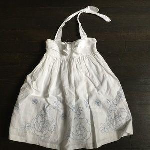 Janie & Jack White Halter Dress sz2